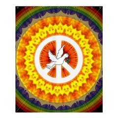 Peace Art Artwork Love Dove Shower Curtain 60  X 72  (medium)  by Nexatart