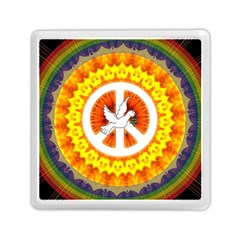 Peace Art Artwork Love Dove Memory Card Reader (square)  by Nexatart