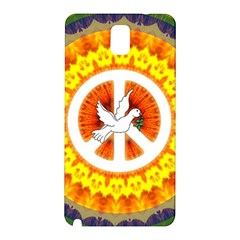 Peace Art Artwork Love Dove Samsung Galaxy Note 3 N9005 Hardshell Back Case by Nexatart