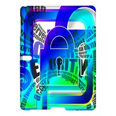 Security Castle Sure Padlock Samsung Galaxy Tab S (10 5 ) Hardshell Case  by Nexatart