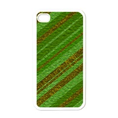 Stripes Course Texture Background Apple Iphone 4 Case (white)