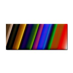 Strip Colorful Pipes Books Color Cosmetic Storage Cases by Nexatart
