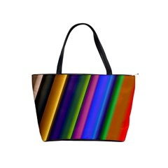 Strip Colorful Pipes Books Color Shoulder Handbags