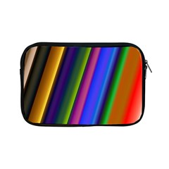 Strip Colorful Pipes Books Color Apple Ipad Mini Zipper Cases by Nexatart