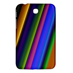 Strip Colorful Pipes Books Color Samsung Galaxy Tab 3 (7 ) P3200 Hardshell Case  by Nexatart
