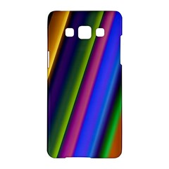 Strip Colorful Pipes Books Color Samsung Galaxy A5 Hardshell Case  by Nexatart