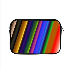 Strip Colorful Pipes Books Color Apple Macbook Pro 15  Zipper Case by Nexatart