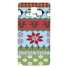 Ugly Christmas Xmas Galaxy Note 4 Back Case by Nexatart