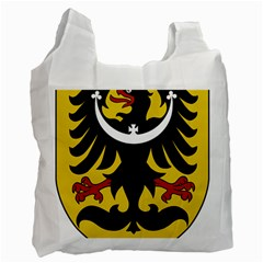 Silesia Coat Of Arms  Recycle Bag (one Side) by abbeyz71
