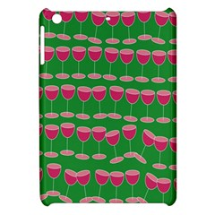 Wine Red Champagne Glass Red Wine Apple Ipad Mini Hardshell Case by Nexatart