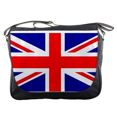 Union Jack Flag Messenger Bags by Nexatart