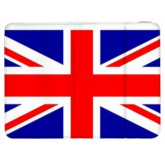 Union Jack Flag Samsung Galaxy Tab 7  P1000 Flip Case by Nexatart