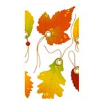 Vector Beautiful Maple Leaf Memory Card Reader Front