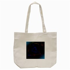 Lines Rays Background Light Pattern Tote Bag (cream) by Nexatart