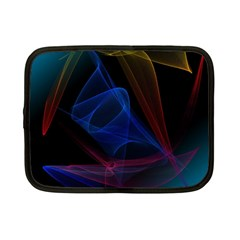 Lines Rays Background Light Pattern Netbook Case (small)