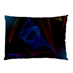 Lines Rays Background Light Pattern Pillow Case