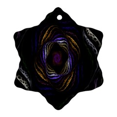 Abstract Fractal Art Ornament (snowflake) by Nexatart