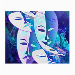 Abstract Mask Artwork Digital Art Small Glasses Cloth (2 Side)