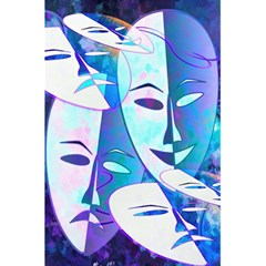 Abstract Mask Artwork Digital Art 5 5  X 8 5  Notebooks by Nexatart