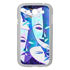 Abstract Mask Artwork Digital Art Samsung Galaxy Grand Duos I9082 Case (white)