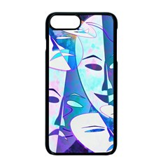 Abstract Mask Artwork Digital Art Apple Iphone 7 Plus Seamless Case (black) by Nexatart