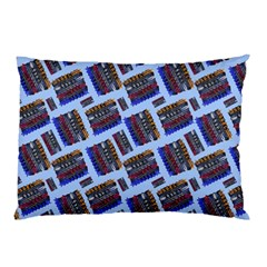 Abstract Pattern Seamless Artwork Pillow Case by Nexatart