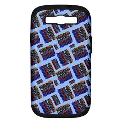 Abstract Pattern Seamless Artwork Samsung Galaxy S Iii Hardshell Case (pc+silicone) by Nexatart