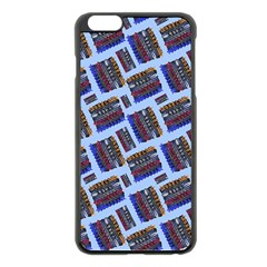 Abstract Pattern Seamless Artwork Apple Iphone 6 Plus/6s Plus Black Enamel Case by Nexatart