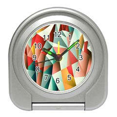 Abstracts Colour Travel Alarm Clocks