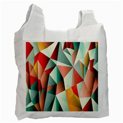 Abstracts Colour Recycle Bag (one Side) by Nexatart