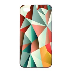 Abstracts Colour Apple Iphone 4/4s Seamless Case (black) by Nexatart