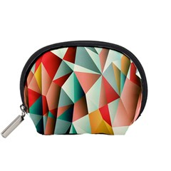 Abstracts Colour Accessory Pouches (small)  by Nexatart