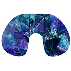Abstract Ship Water Scape Ocean Travel Neck Pillows by Nexatart