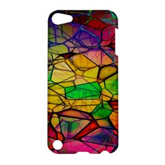 Abstract Squares Triangle Polygon Apple Ipod Touch 5 Hardshell Case by Nexatart