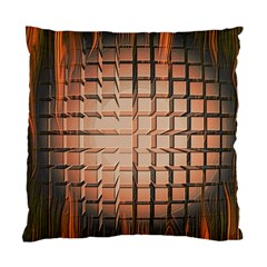 Abstract Texture Background Pattern Standard Cushion Case (one Side) by Nexatart
