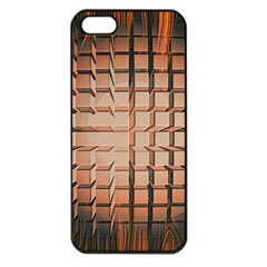 Abstract Texture Background Pattern Apple Iphone 5 Seamless Case (black)