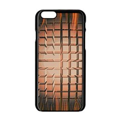 Abstract Texture Background Pattern Apple Iphone 6/6s Black Enamel Case by Nexatart