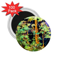 Abstract Trees Flowers Landscape 2 25  Magnets (100 Pack)
