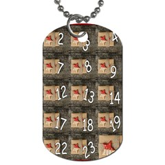 Advent Calendar Door Advent Pay Dog Tag (one Side) by Nexatart