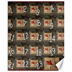 Advent Calendar Door Advent Pay Canvas 11  X 14   by Nexatart