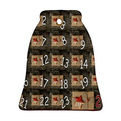 Advent Calendar Door Advent Pay Bell Ornament (two Sides) by Nexatart