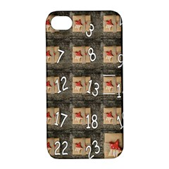 Advent Calendar Door Advent Pay Apple Iphone 4/4s Hardshell Case With Stand