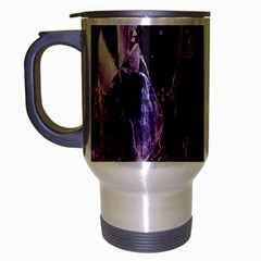 Agate Naturalpurple Stone Travel Mug (silver Gray)