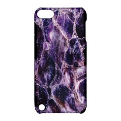 Agate Naturalpurple Stone Apple Ipod Touch 5 Hardshell Case With Stand by Alisyart