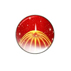 Advent Candle Star Christmas Hat Clip Ball Marker (4 Pack) by Nexatart