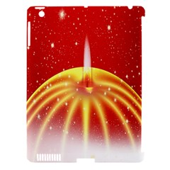 Advent Candle Star Christmas Apple Ipad 3/4 Hardshell Case (compatible With Smart Cover)