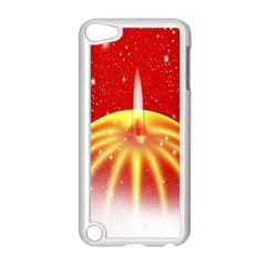 Advent Candle Star Christmas Apple Ipod Touch 5 Case (white) by Nexatart