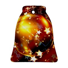 Advent Star Christmas Bell Ornament (two Sides)