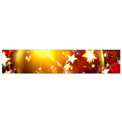 Advent Star Christmas Flano Scarf (small) by Nexatart