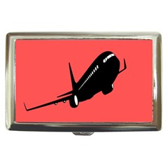 Air Plane Boeing Red Black Fly Cigarette Money Cases